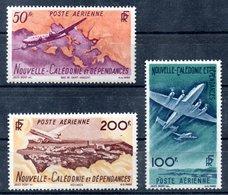 Nouvelle-Calédonie  Neukaledonien Luftpost Y&T PA 61** - PA 63** - Neukaledonien