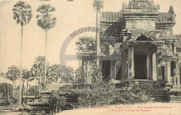 /!\ 8424 - CPA/CPSM - Asie  : Cambodge : Angkor : Encoignure Sud - Cambodia