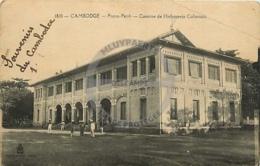 /!\ 8426 - CPA/CPSM - Asie  : Cambodge : Pnom Penh : Caserne De L'infanterie Coloniale - Cambodge