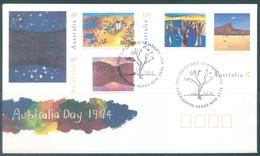 AUSTRALIA  - FDC - 13.1.1994 - PAINTINGS - Yv 1339-1342  - Lot 18651 - Premiers Jours (FDC)