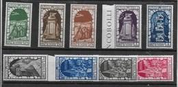 """REGNO D'ITALIA 1934  ** MNH  """" ANNESSIONE DI FIUME """" POSTA AEREA 9 VALORI   046 - 1900-44 Vittorio Emanuele III"""