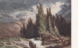 Carte Pro Juventute  No 86 : Orage à La Handeck, Selon A. CALAME - Pro Juventute
