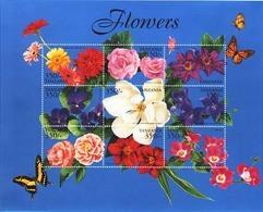MBP-BK3-272 MINT ¤ TANZANIA 1999 9w In Serie ¤ FLOWERS OF THE WORLD - FLEURS - BLÜMEN - BLOEMEN - FLORES - Pflanzen Und Botanik