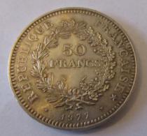 France - Monnaie Argent 50 Francs 1977 - SUP/SPL - France