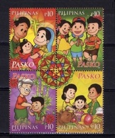 Filippine Philippines Philippinen Filipinas 2014 Christmas (Pasko 2014) Se-tenant Block Of 4 - MNH**  (see Photo) - Philippines