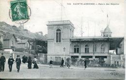N°67820 -cpa Sainte Adresse -le Palais Des Régates- - Sainte Adresse