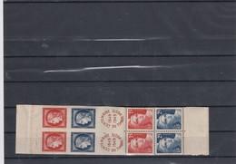 Bande Centenaire Du Timbre 1949 Paire N° 833A  /  7224 - Marcophilie (Lettres)