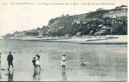 N°67830 -cpa Sainte Adresse Nice Havrais -la Plage Et La Pointe De La Hève- - Sainte Adresse