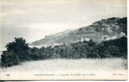 N°67831 -cpa Sainte Adresse Nice Havrais -coucher De Soleil Sur La Hève- - Sainte Adresse