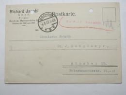 1923 , Gebühr Bezahlt , Beleg Aus  Bochum - Briefe U. Dokumente