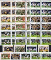 FIFA Championat 2004 Tchad 9 Stamps+4-Blocks ** 70€ Fußball-WM Spieler Voetball Blocs Soccer M/s Sheets Bf Football - Soccer