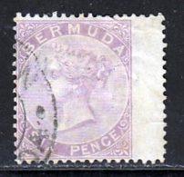 Bermudes 1865 Yvert 4 (o) B Oblitere(s) - Bermuda