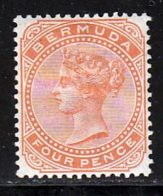 Bermudes 1880 Yvert 16 * TB Charniere(s) - Bermuda