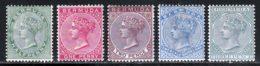Bermudes 1884 Yvert 17 - 18 - 20 / 22 * TB Charniere(s) - Bermuda