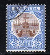 Bermudes 1906 Yvert 35 (o) B Oblitere(s) - Bermudes