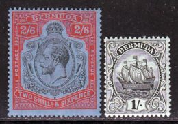 Bermudes 1910 Yvert 46 - 48 * TB Charniere(s) - Bermudes