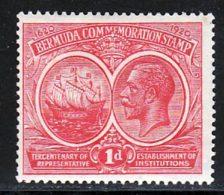 Bermudes 1921 Yvert 55 * TB Charniere(s) - Bermudes