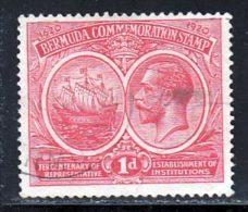 Bermudes 1921 Yvert 55 (o) B Oblitere(s) - Bermudes