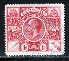 Bermudes 1921 Yvert 66 (o) B Oblitere(s) - Bermudes
