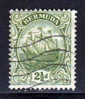 Bermudes 1922 Yvert 77 (o) B Oblitere(s) - Bermuda