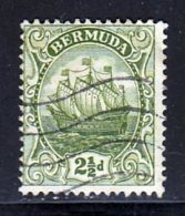 Bermudes 1922 Yvert 77 (o) B Oblitere(s) - Bermudes
