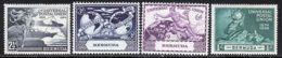 Bermudes 1949 Yvert 128 / 131 * TB Charniere(s) - Bermudes