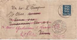 ESTONIE 1938 LETTRE DE TALLINN - Estonie