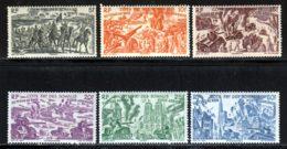 Cote Des Somalis PA 1946 Yvert 14 / 19 ** TB - Französich-Somaliküste (1894-1967)