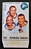 APOLLO XIII 1970 - NEUF ** - YT PA 137 - MI 813A - BAS DE FEUILLE - Togo (1960-...)