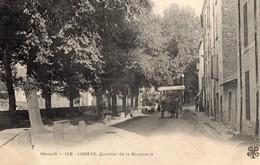 34.HERAULT. // LODEVE. QUARTIER DE LA BOUQUERIE - Lodeve
