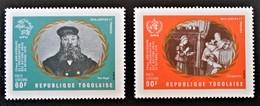 25 ANS DE L'O.N.U 1970 - NEUFS ** - YT PA 141/42 - MI 831A/32A - Togo (1960-...)