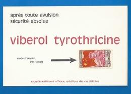TIMBRE CHINE MAO  - PUBLICITÉ VIBEROL - LAB. VEYRON, MARSEILLE - PUBLICITÉ IMPRIMÉE VERSO TIMBRE - 1949 - ... République Populaire