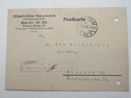 1923 , Gebühr Bezahlt , Beleg Aus  Berlin - Briefe U. Dokumente