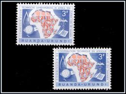 Ruanda 0217/18**   C.C.T.A  MNH - - 1948-61: Neufs