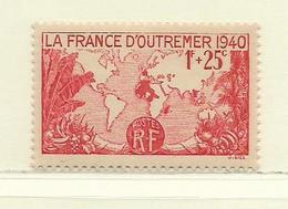 FRANCE  ( F31 - 452 )  1940  N° YVERT ET TELLIER  N° 453  N** - France