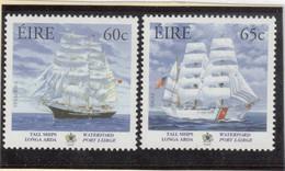 """V17 - IRLANDE 1662 Et 1663 **MNH De 2005 - GRANDS VOILIERS - """" TENACIOUS """" - """" EAGLE """" - 1949-... République D'Irlande"""