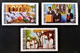 LES RELIGIONS AU TOGO 1971 - NEUFS ** - YT PA 164/66 - MI 881A/83A - Togo (1960-...)