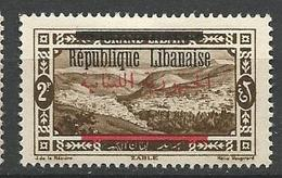 GRAND LIBAN  N° 102 NEUF*  CHARNIERE / MH / Signé CALVES - Grand Liban (1924-1945)