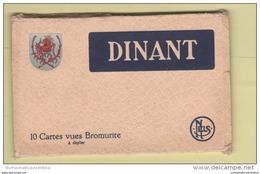Dinant Namur Belgio Belgique Belgium Livret 10 Cartes Postales - Dinant