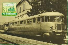 STAZIONE. VILLA RAVERIO. 106a - Stazioni Con Treni