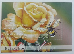 Dominica 2002** Bl. 461. Bumble Bee. MNH [3;64] - Insects