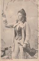 Fantaisie : FEMME : Trés Belle Violoniste ( Musique - Violon ) Précurseur ( Tampon Perlé - La Motte De Galaure - Drome ) - Femmes