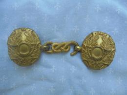 Boucle De Ceinturon D Officier De Tirailleur Algerien 2 Empire - Equipement