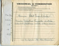 PECHE ST-PIERRE-ET-MIQUELON 1902/03 RARE CARNET A SOUCHES DE MESSAGES DE LA Cie FRANCAISE DU TELEGRAPHE PARIS A NEW-YORK - Boats