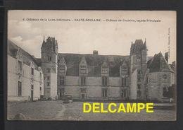 DD / 44 LOIRE ATLANTIQUE / HAUTE-GOULAINE / CHÂTEAU DE GOULAINE - FAÇADE PRINCIPALE - Haute-Goulaine