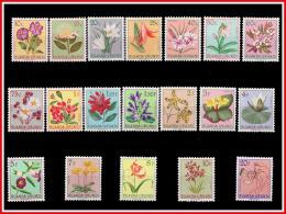 Ruanda 0177/95**  Fleurs -MNH - - 1948-61: Neufs