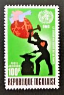 MOIS MONDIAL DU COEUR 1972 - NEUF ** - YT PA 176 - MI 919A - Togo (1960-...)