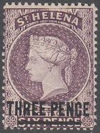 ST. HELENA    SCOTT NO.  37     MINT HINGED     YEAR  1884   PERF  14 X 14 - Grande-Bretagne (ex-colonies & Protectorats)