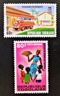 INDUSTRIE DU MANIOC 1972 - NEUFS ** - YT PA 178/79 - MI 925A/26A - Togo (1960-...)