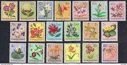 Ruanda 0177/95* Blomen/Fleurs -H- - 1948-61: Nuovi